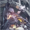 Batman comic illustration