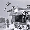 3D Dutch 50's restaurant Lands End Den Helder